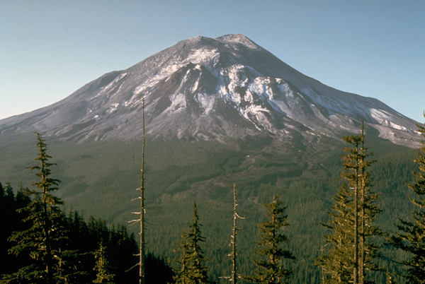 Mount St Helens, The day before it erupted