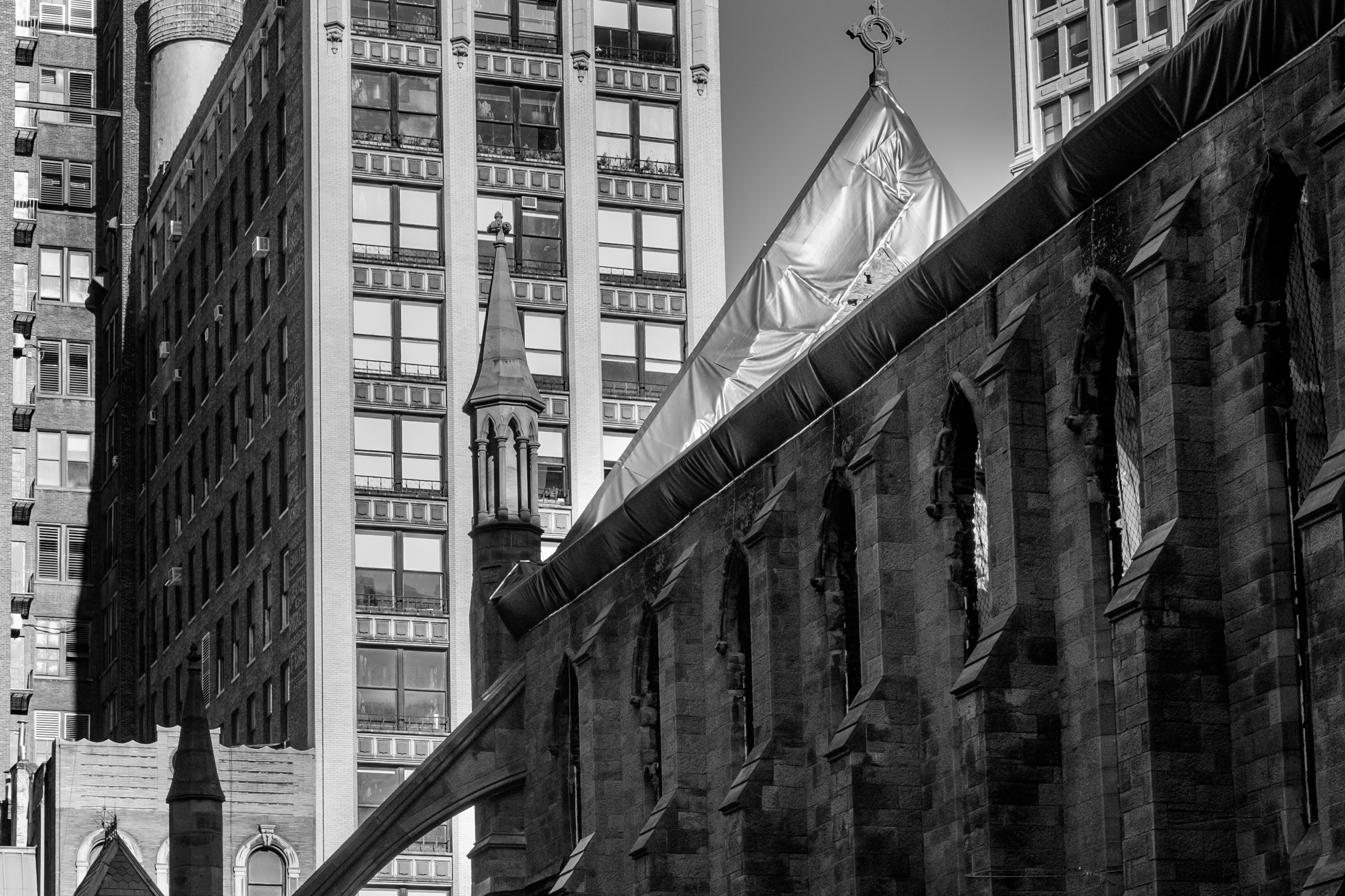 hollow-church-W25th-manhattan-black-and-white-photography